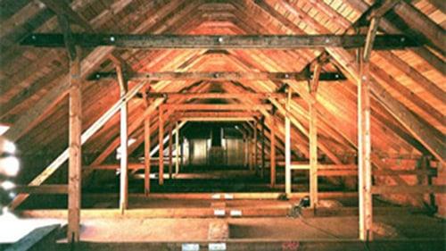 Dachstuhlsanierung Herrenhaus