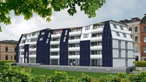 FASA AG Gesamtansicht Solardomizil II Rueckansicht