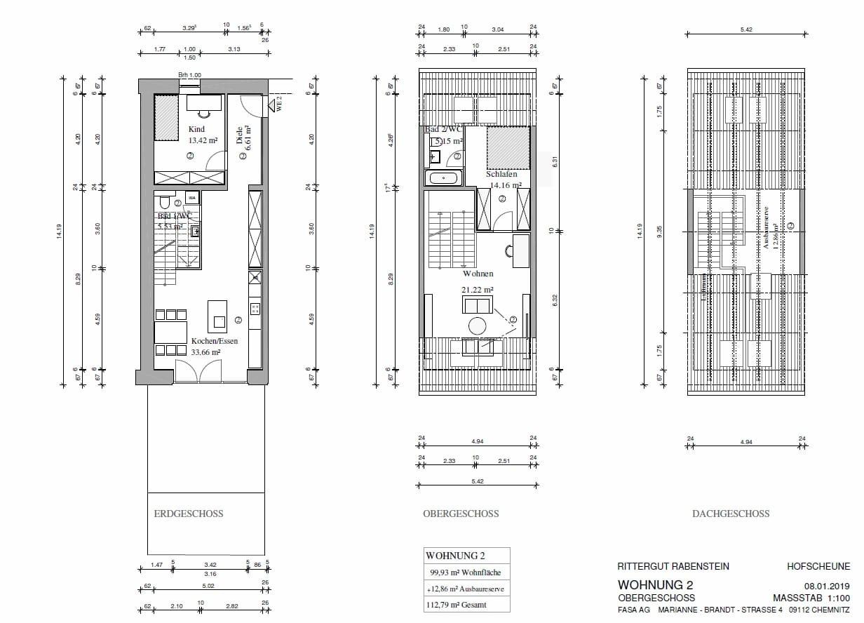 Rittergut-Rabenstein-Grundriss Wohnung 2