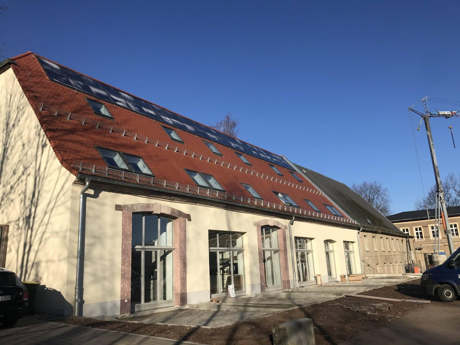 Hofscheune Bautenstand Januar 2020