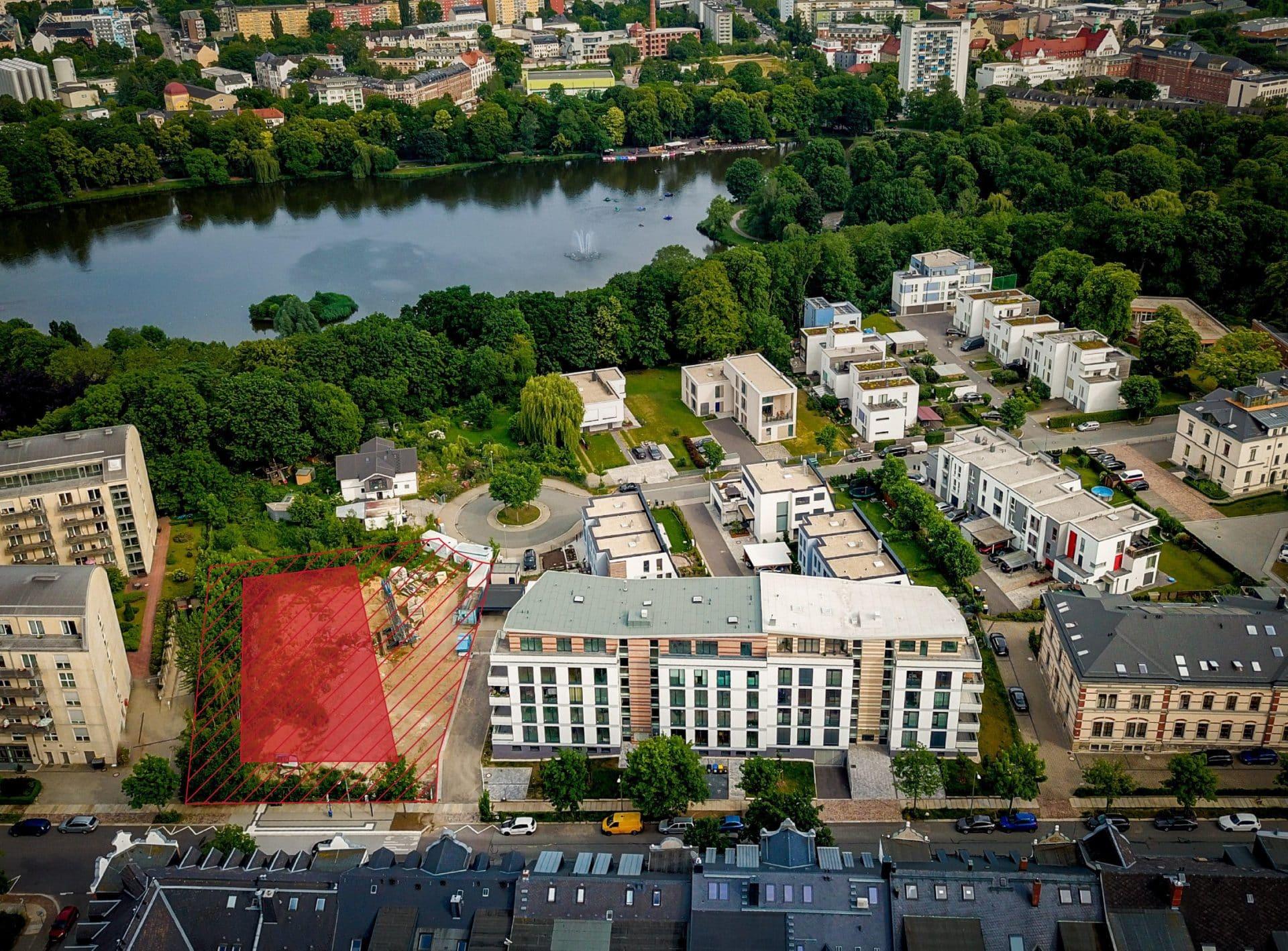 """Neubau Eigentumswohnanlage """"Solardomizil Am Schloss Haus C"""""""