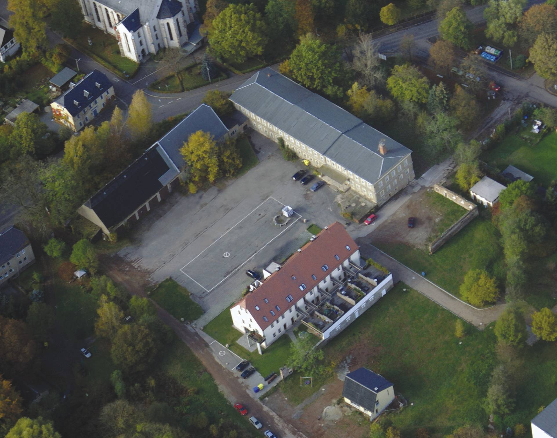 Luftaufnahme Oktober 2009