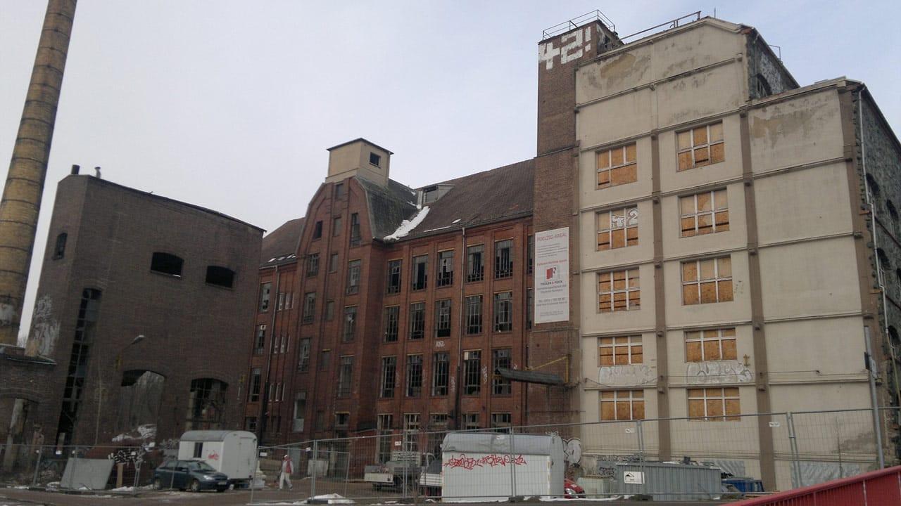 Kohlebunker, Poelzig-Areal - vor Revitalisierung