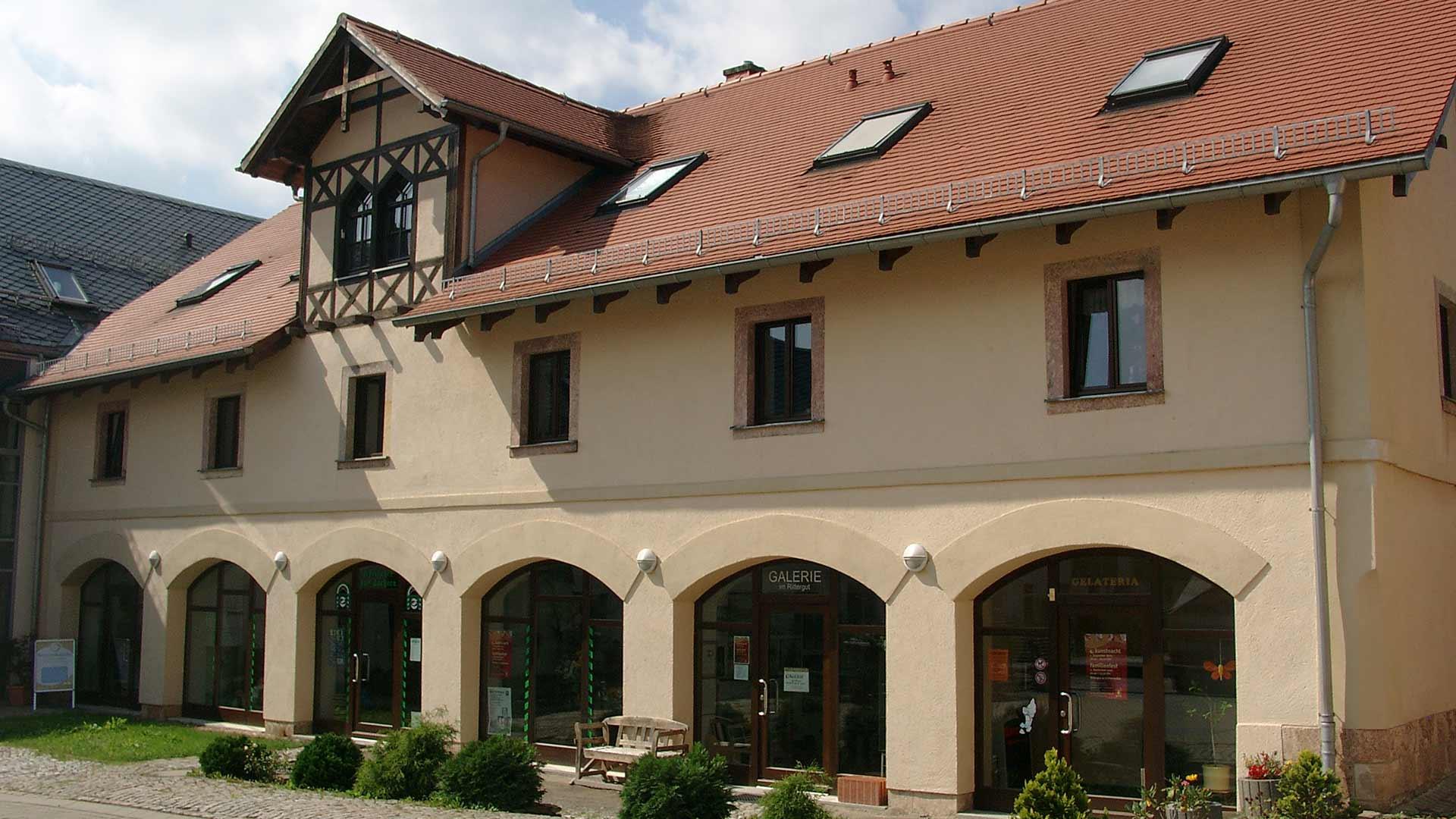 Rittergut Lichtenwalde Wohn-/Geschäftshaus - NACHHER