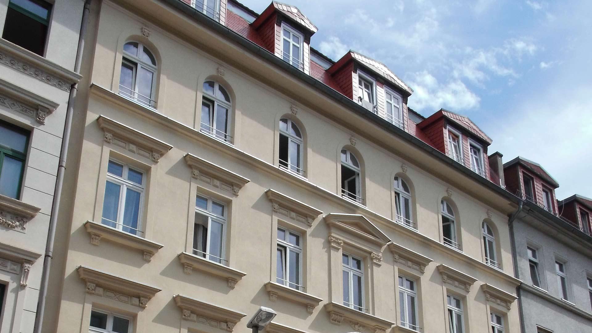 solar saniertes MFH in Leipzig II