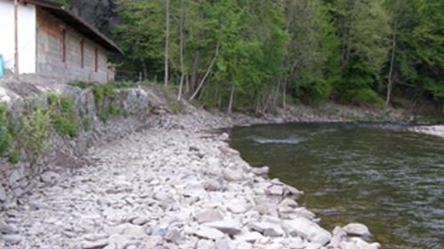 Erstellung neue Uferbefestigung II