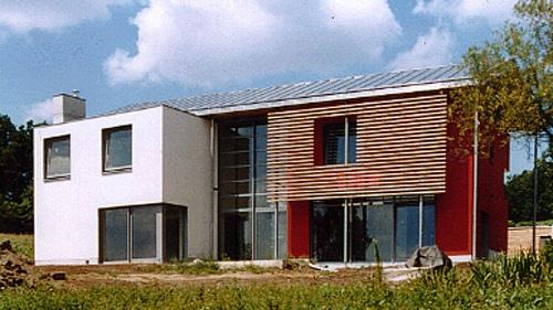Villa Beiersdorf - Vorderseite