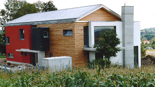 Villa Beiersdorf - Rückseite