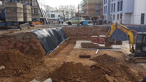 Baugruben bis Geländeprofilierung