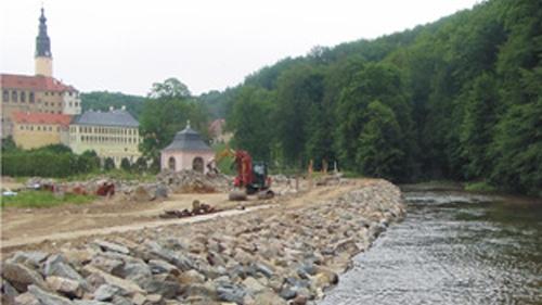 Erstellung neue Uferbefestigung I