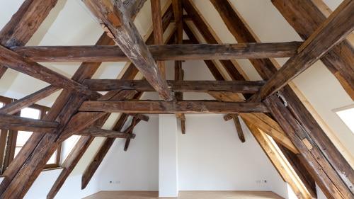 Sanierung eines historischen Dachstuhls