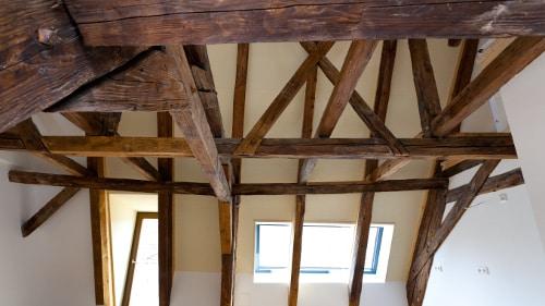 Dachstuhl - Sanierung