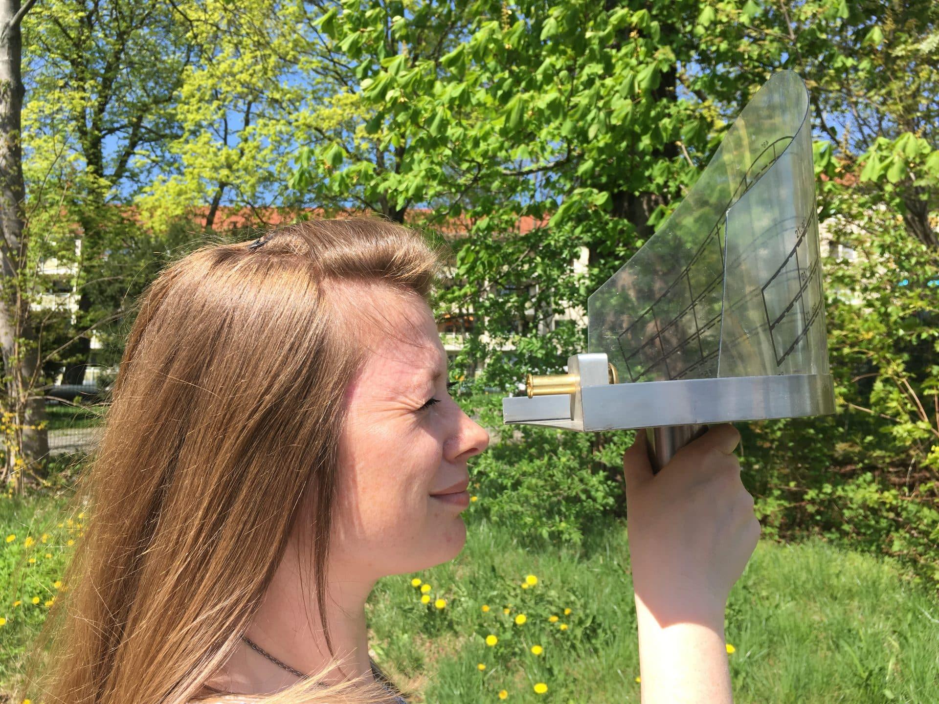 Solaranalyse Handgeraet
