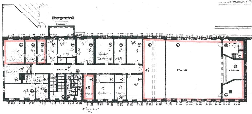 Grundriss Obergeschosss