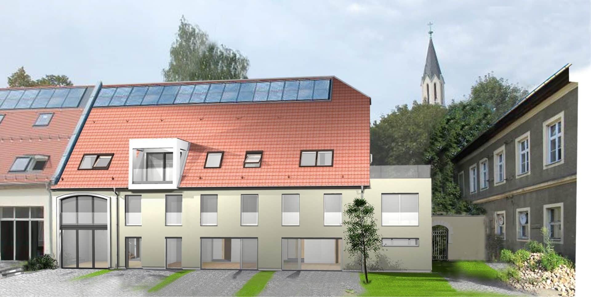 Planungskonzeption Hofscheune 2