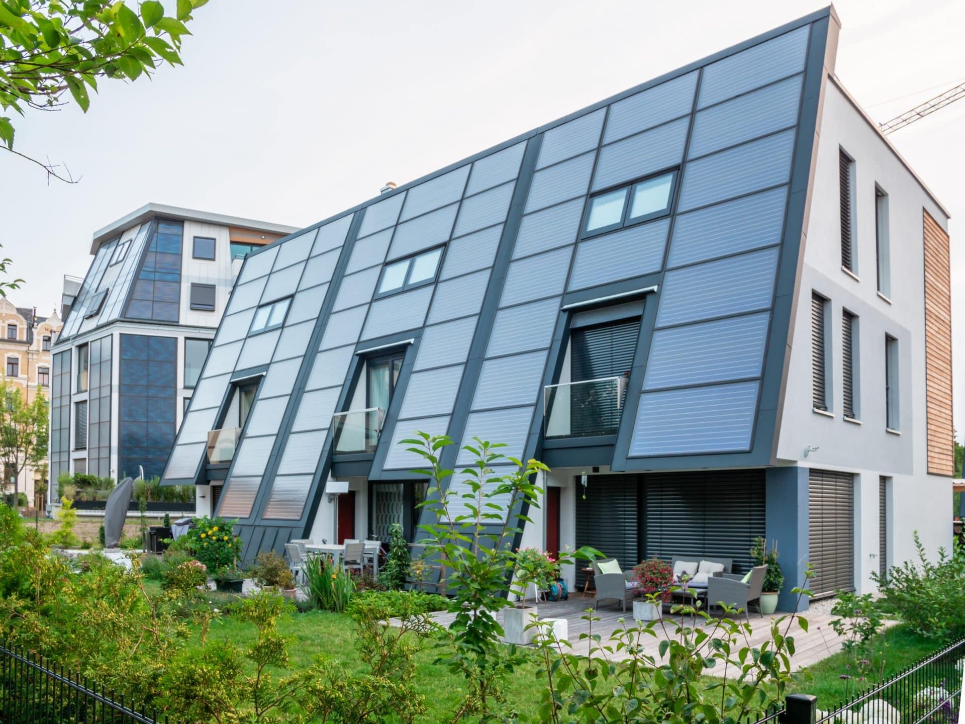 Aktivsonnenhaus® urban in Sachsen