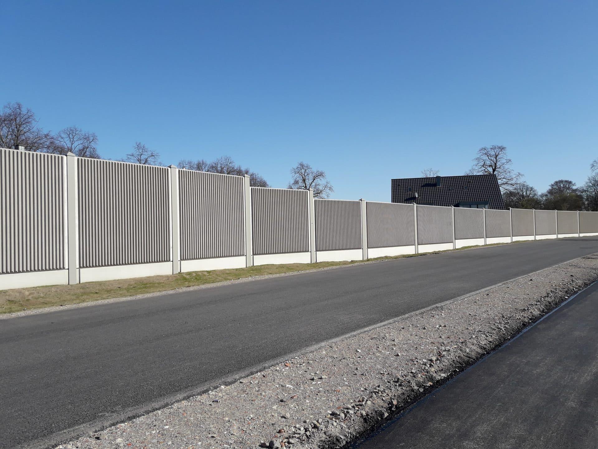 Lärmschutzwand, Stahl-Beton, Nordrhein-Westfalen